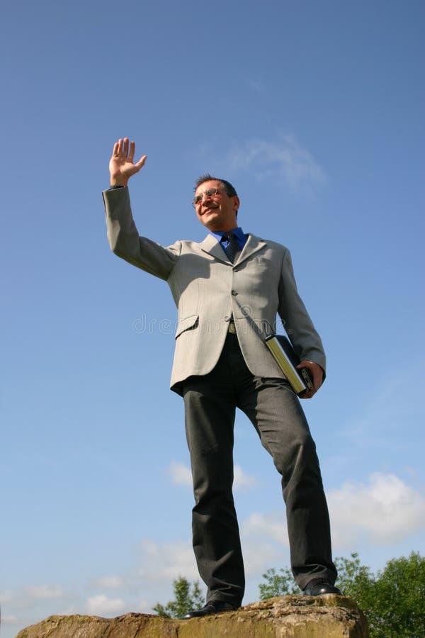 Homem de negócio imagem de stock royalty free