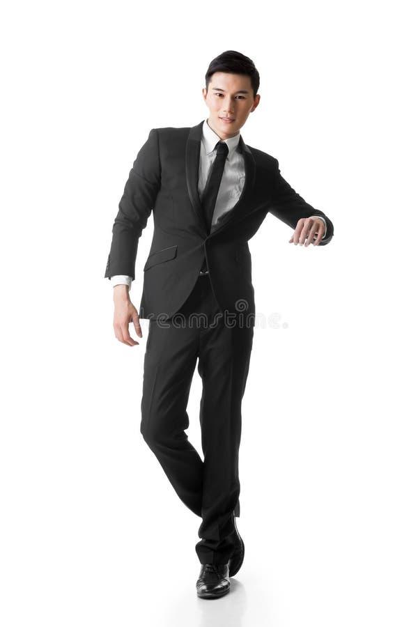 Homem de negócio asiático imagem de stock