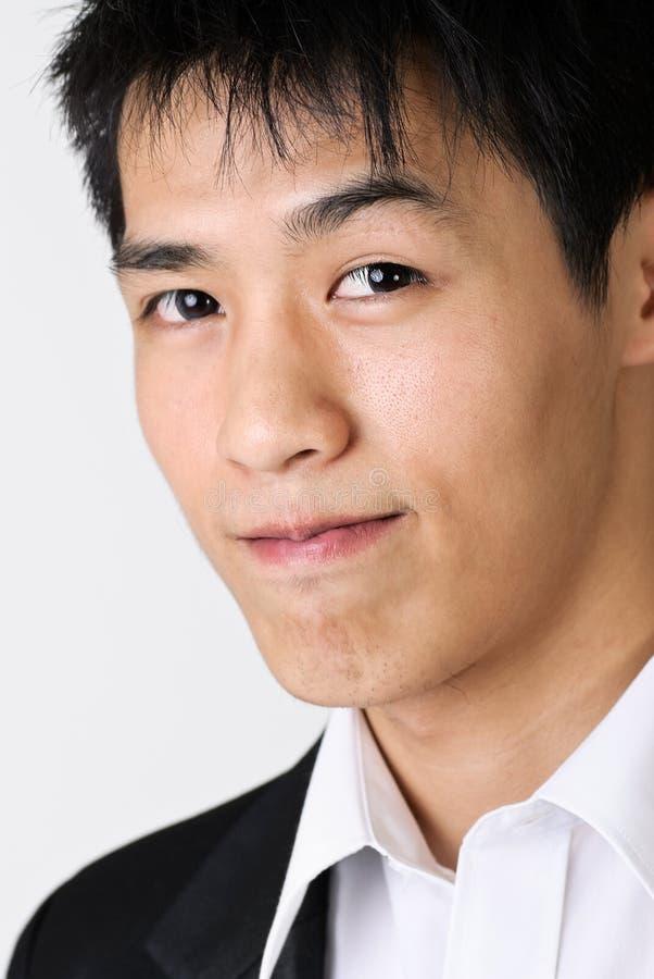 Homem de negócio atrativo do Asian fotos de stock