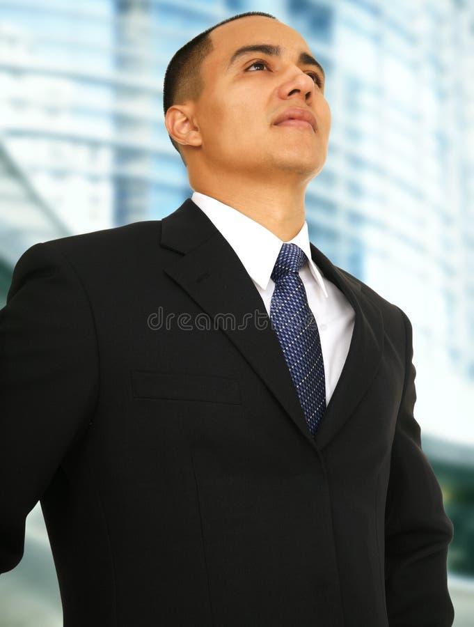 Homem de negócio bem sucedido foto de stock