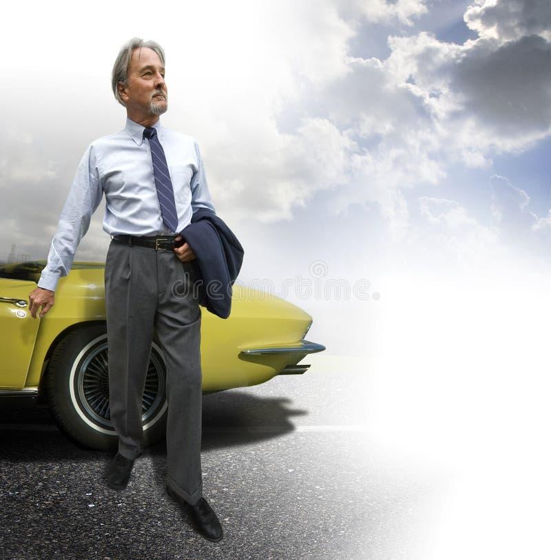 Homem de negócio bem sucedido fotografia de stock royalty free