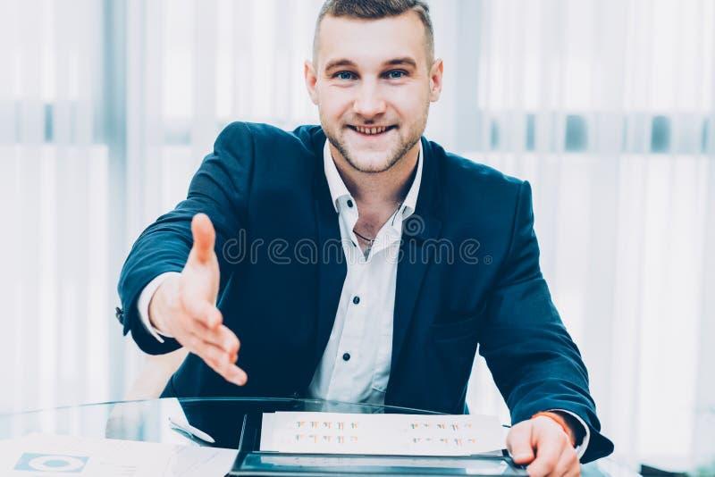 Homem de negócio bem sucedido da parceria do investimento fotos de stock