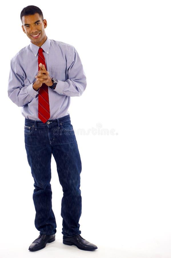 Download Homem de negócio confiável imagem de stock. Imagem de expressão - 12801763