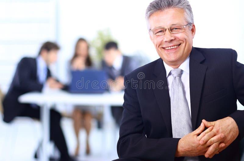 Homem de negócio confiável imagem de stock royalty free