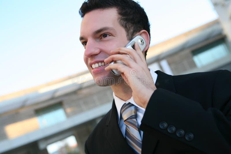 Homem de negócio considerável foto de stock royalty free