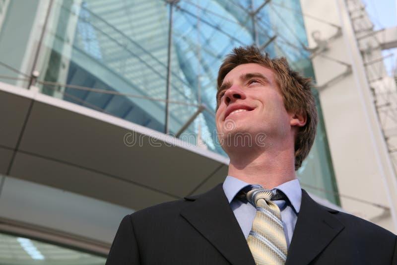 Homem de negócio considerável imagem de stock royalty free