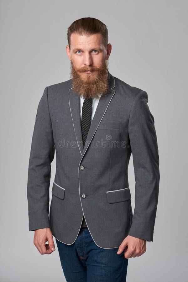 Homem de negócio do moderno foto de stock