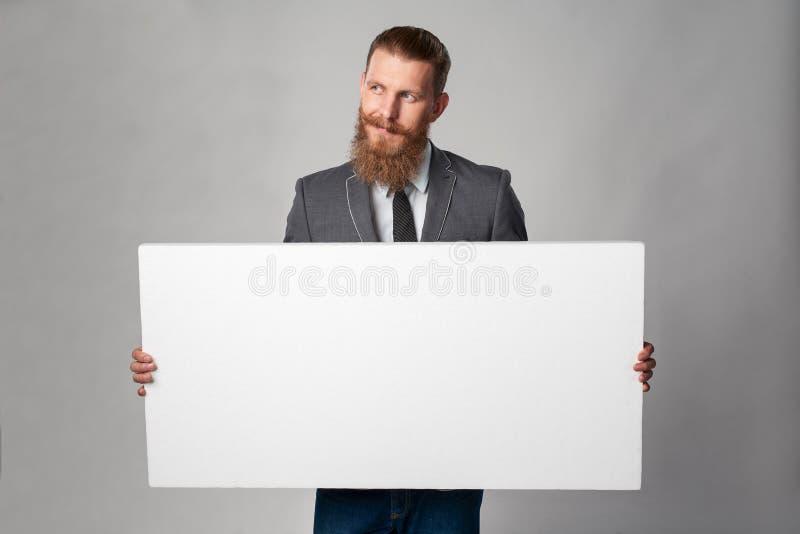 Homem de negócio do moderno fotografia de stock
