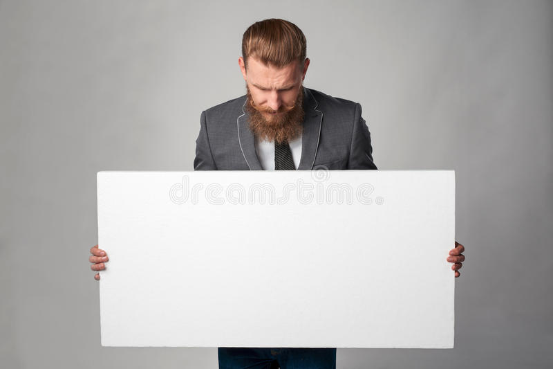 Homem de negócio do moderno imagens de stock