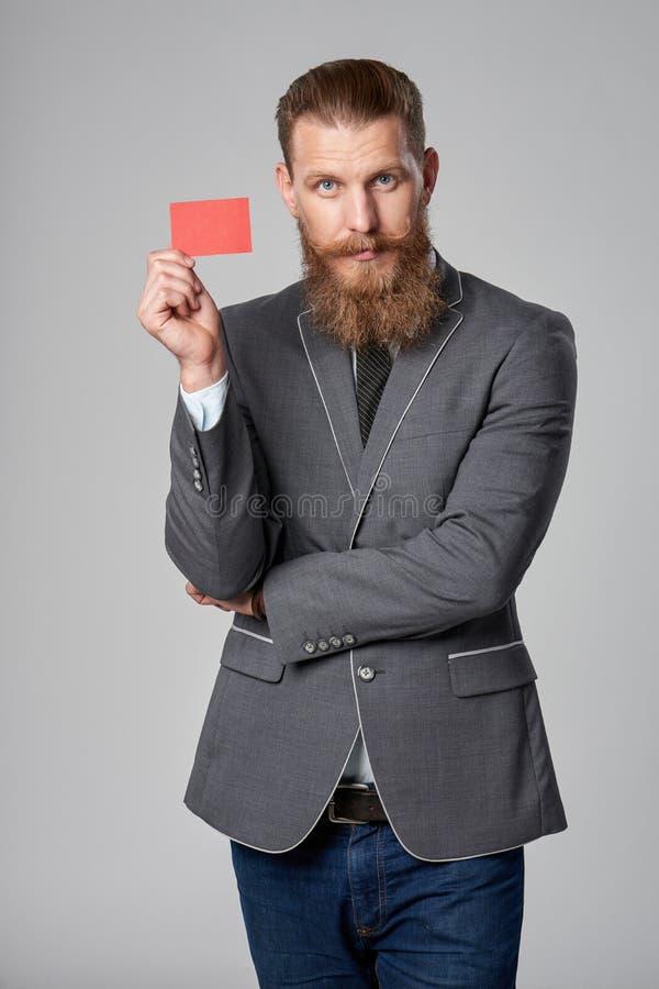 Homem de negócio do moderno fotos de stock
