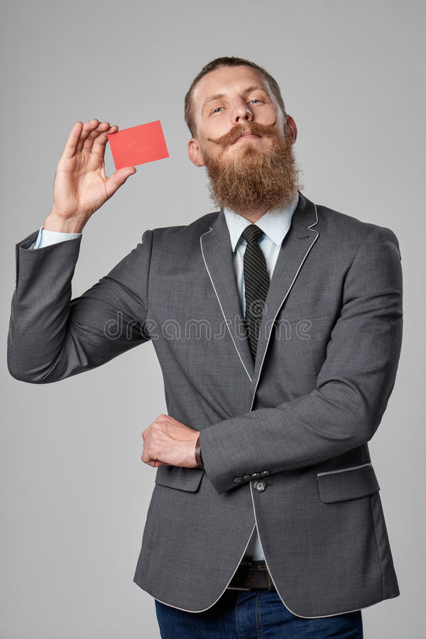 Homem de negócio do moderno fotos de stock royalty free
