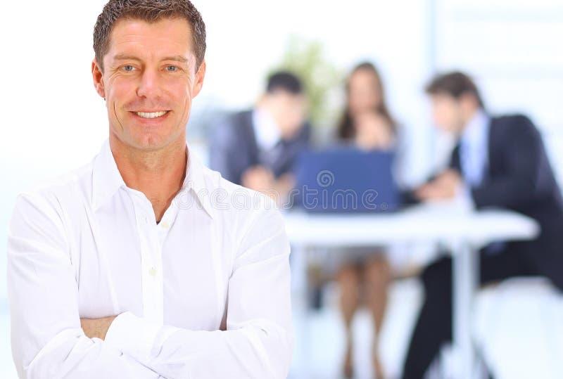 Homem de negócio do retrato fotos de stock royalty free