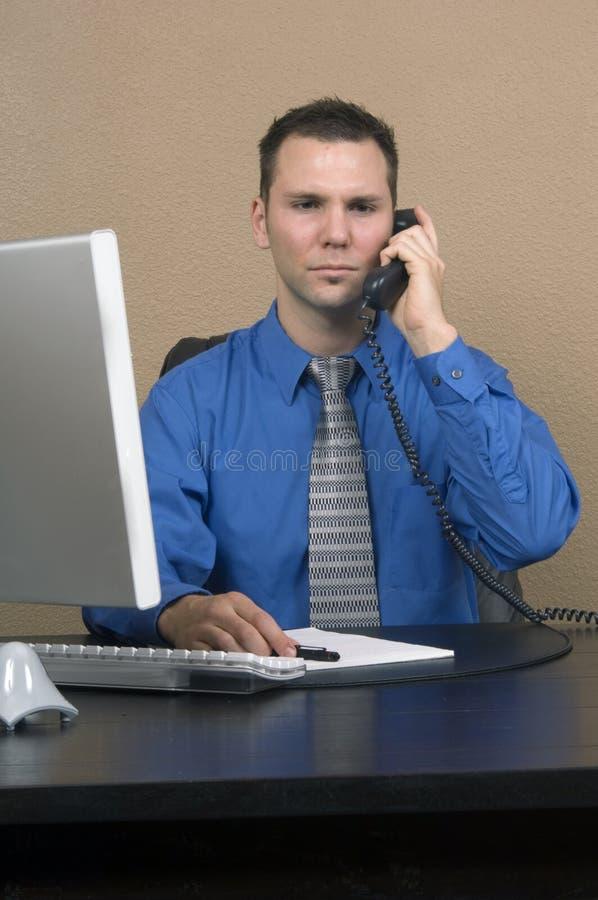 Download Homem De Negócio Em Seu Escritório Imagem de Stock - Imagem de macho, caucasiano: 543513