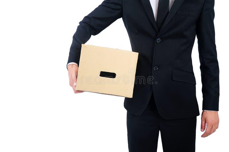 Homem de negócio isolado fotos de stock