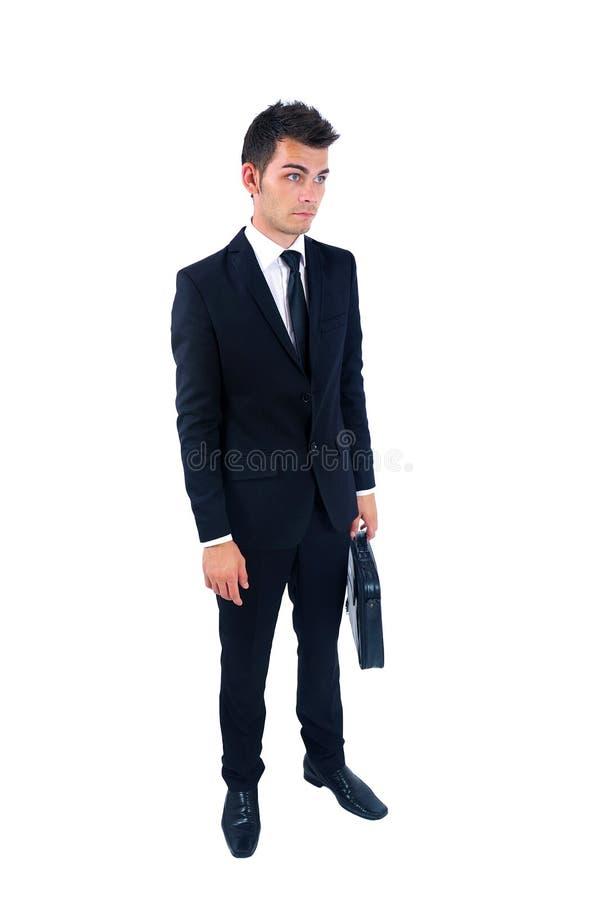 Homem de negócio isolado foto de stock
