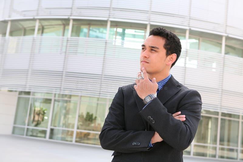 Homem de negócio latino-americano foto de stock royalty free