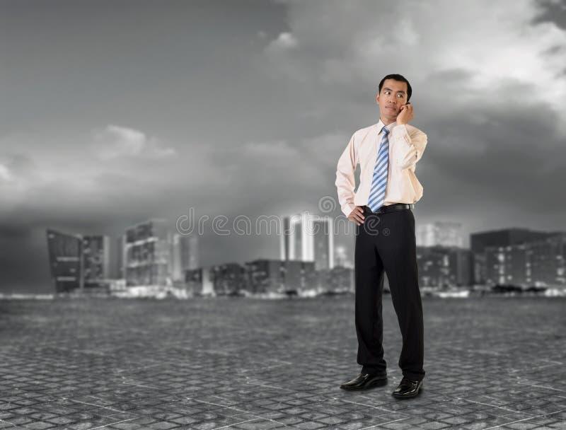Homem de negócio maduro imagens de stock