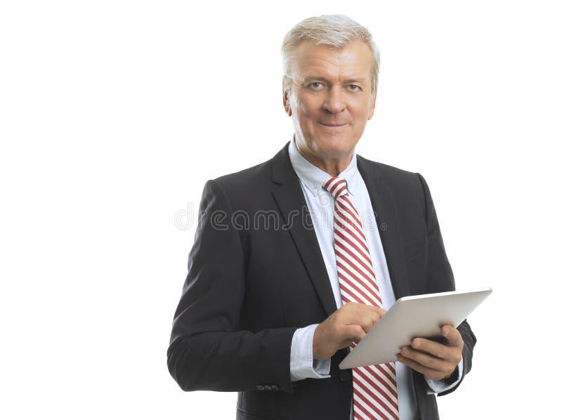 Homem de negócio maduro foto de stock royalty free