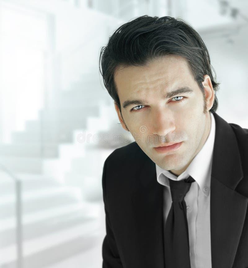 Homem de negócio moderno fotos de stock