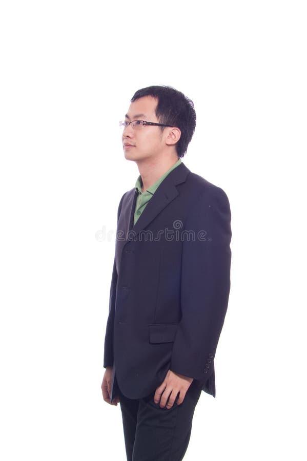 Homem de negócio novo foto de stock