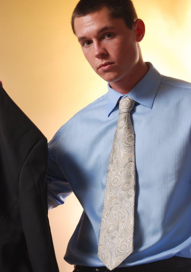 Homem de negócio novo 3 imagem de stock