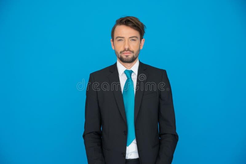 Homem de negócio novo considerável fotografia de stock royalty free
