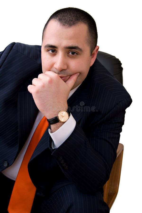 Homem de negócio ocasional imagem de stock