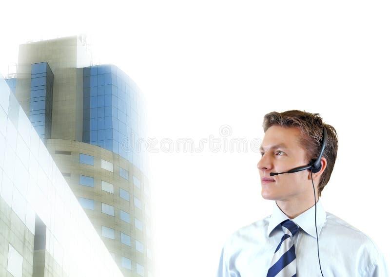 Homem de negócio que tenta impr, advogado novo com imagem de stock royalty free
