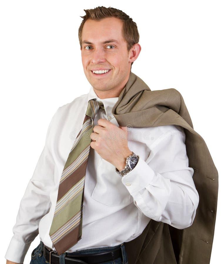 Homem de negócio seguro fotos de stock royalty free