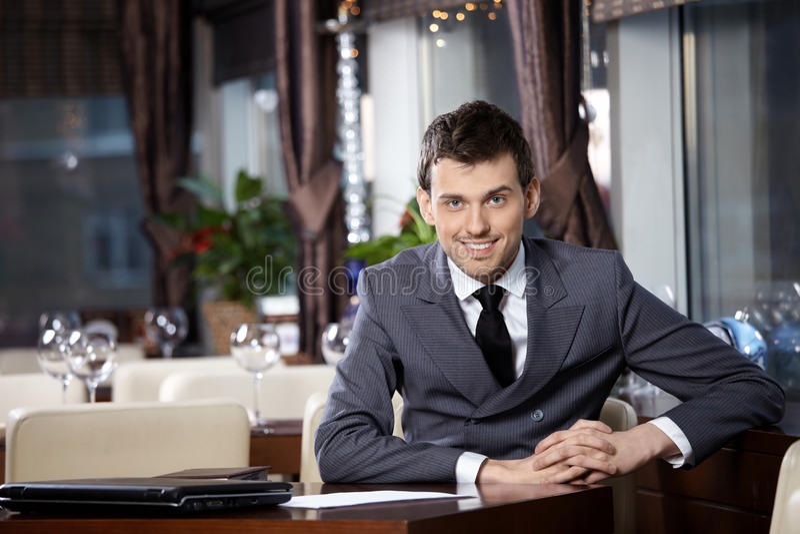 Homem de negócios imagem de stock
