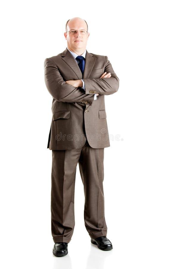 Download Homem de negócios imagem de stock. Imagem de confiável - 12805689