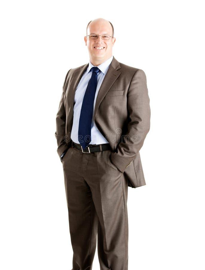 Download Homem de negócios foto de stock. Imagem de isolado, moderno - 12805692