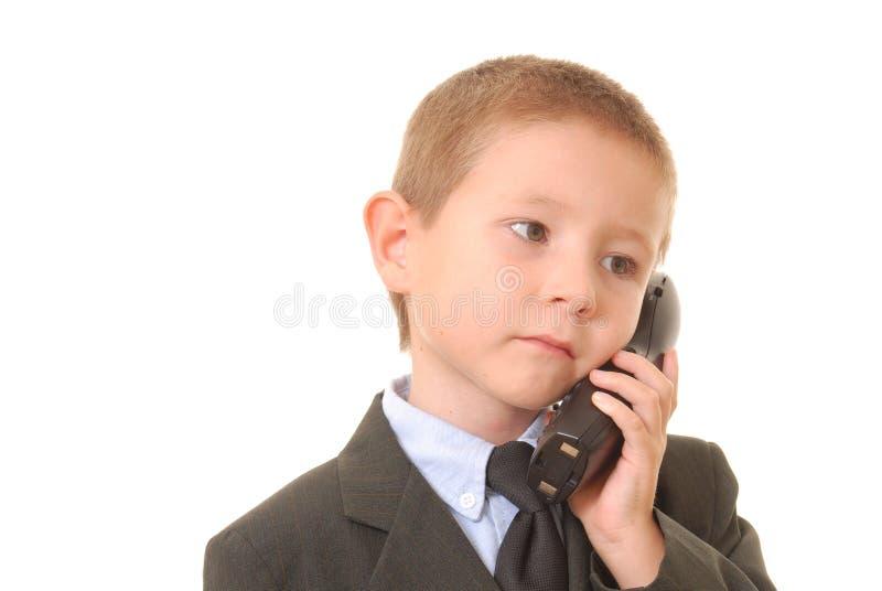Homem de negócios 22 do menino imagem de stock