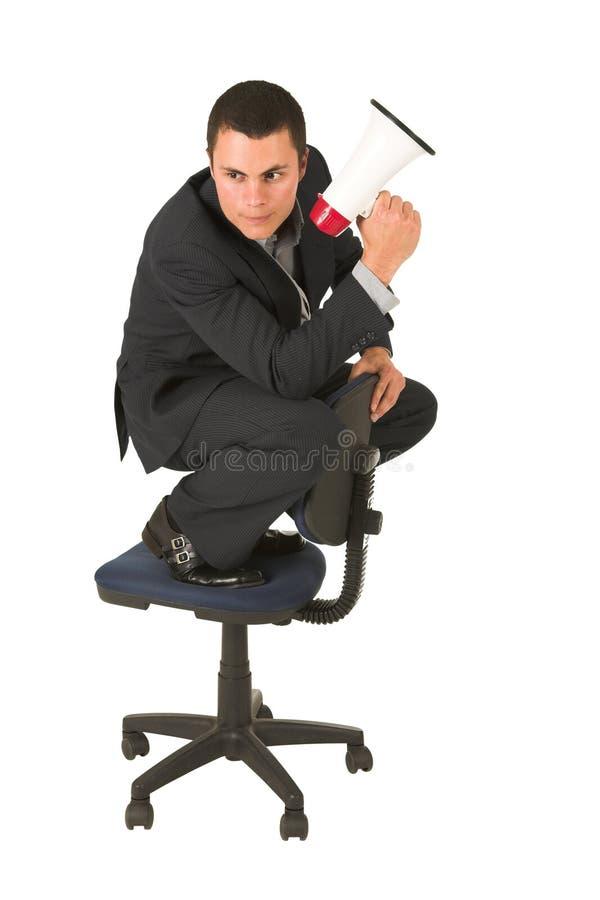 Homem de negócios #247 imagem de stock