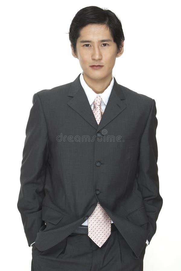 Homem de negócios 4 fotografia de stock