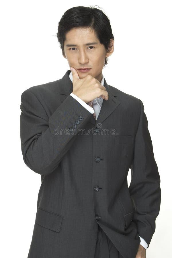Homem de negócios 7 fotografia de stock