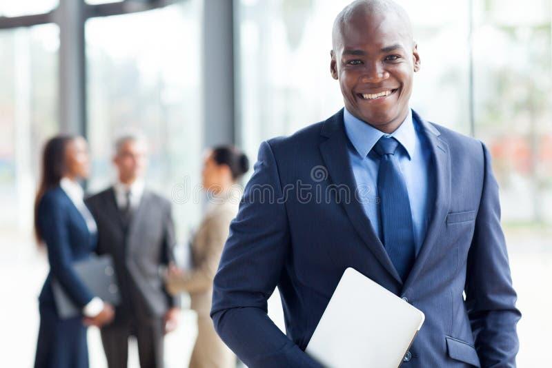 Homem de negócios afro-americano imagens de stock royalty free
