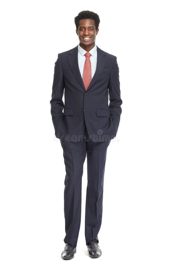 Homem de negócios afro-americano imagens de stock