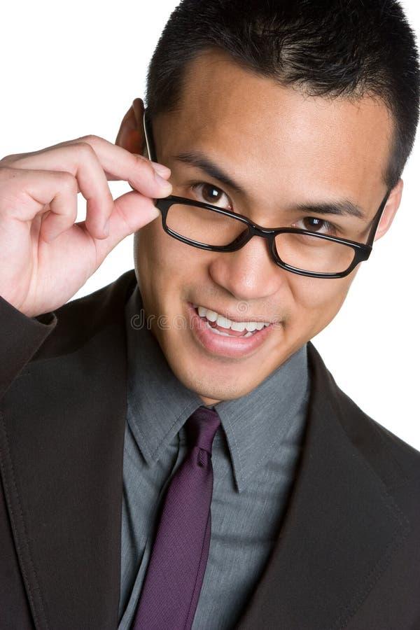 Homem de negócios asiático imagens de stock royalty free