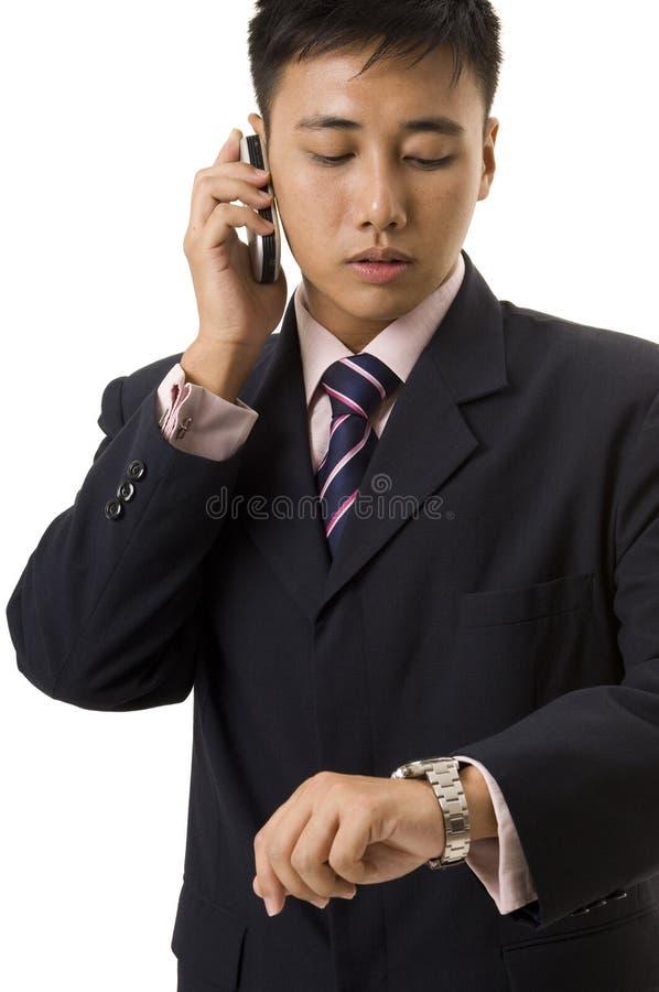 Homem de negócios asiático 7 fotografia de stock