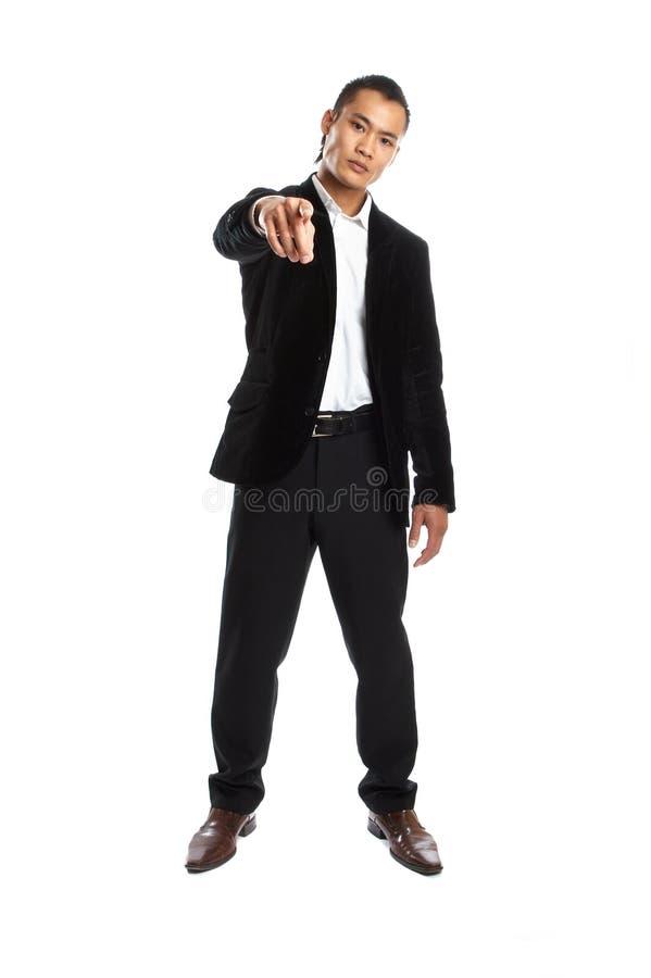 Homem de negócios asiático novo fotos de stock