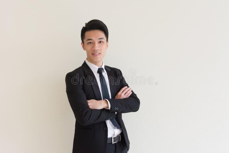 Homem de negócios asiático novo foto de stock royalty free