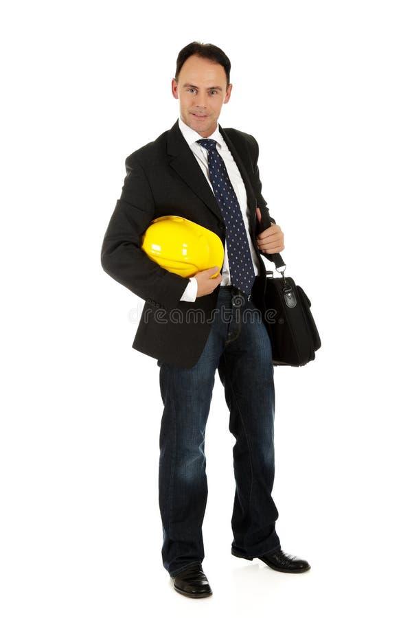 Homem de negócios caucasiano atrativo fotos de stock