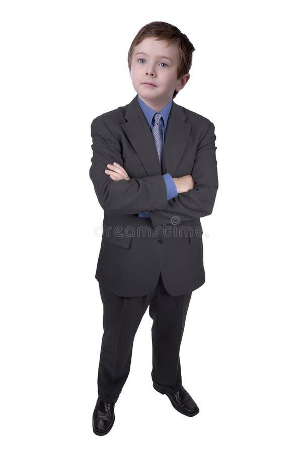 Download Homem De Negócios Com Braços E Cabeça De Cão Cruzados Foto de Stock - Imagem de resolva, vista: 16857130
