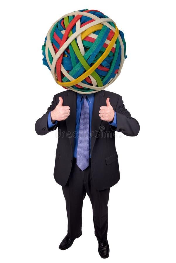 Download Homem De Negócios Com Braços E Cabeça De Cão Cruzados Foto de Stock - Imagem de solução, businessman: 16857156