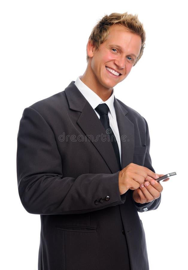 Homem de negócios confiável foto de stock royalty free