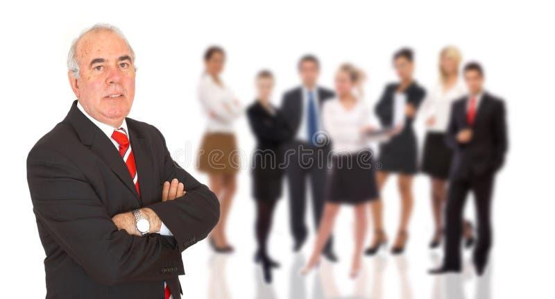 Homem de negócios confiável fotos de stock royalty free