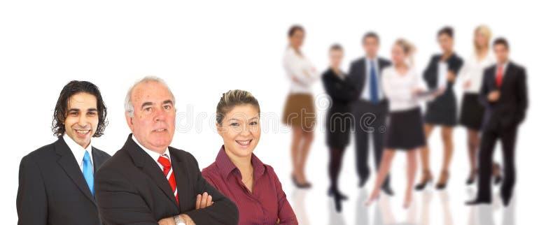 Homem de negócios confiável imagens de stock royalty free