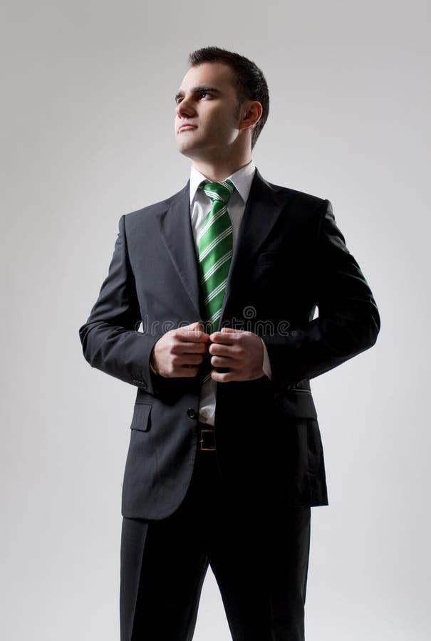 Homem de negócios confiável fotografia de stock royalty free