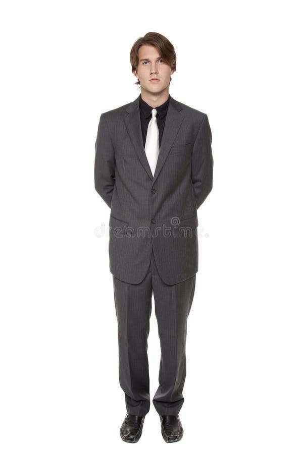 Homem de negócios - confiança imagem de stock